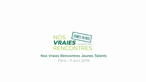 Nos Vraies Rencontres Jeunes Talents 2019 !