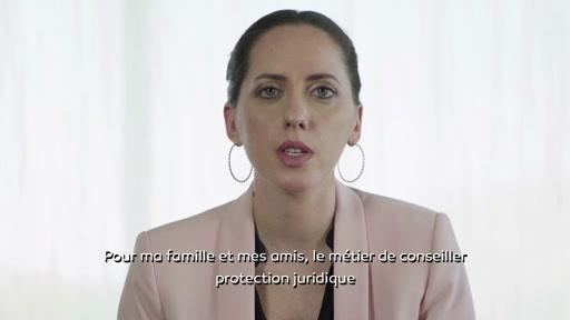 Aurélie, conseillère protection juridique